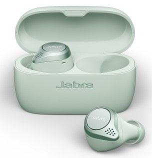 Jabra Bluetooth handsfree hudební Elite Active 75t 100-99091002-60, zelené