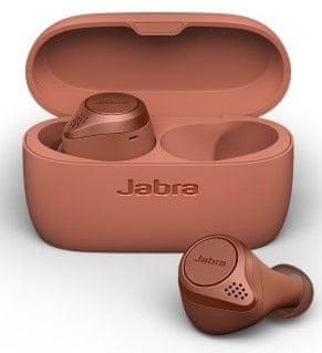 Jabra Bluetooth handsfree hudební Elite Active 75t 100-99091003-60, červené