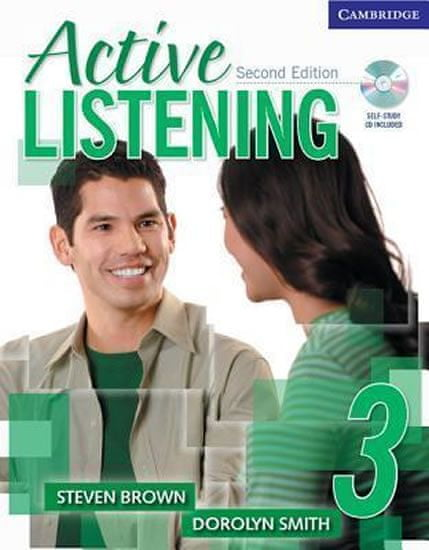 Brown Steven: Active Listening 3 Students Book with Self-study Audio CD