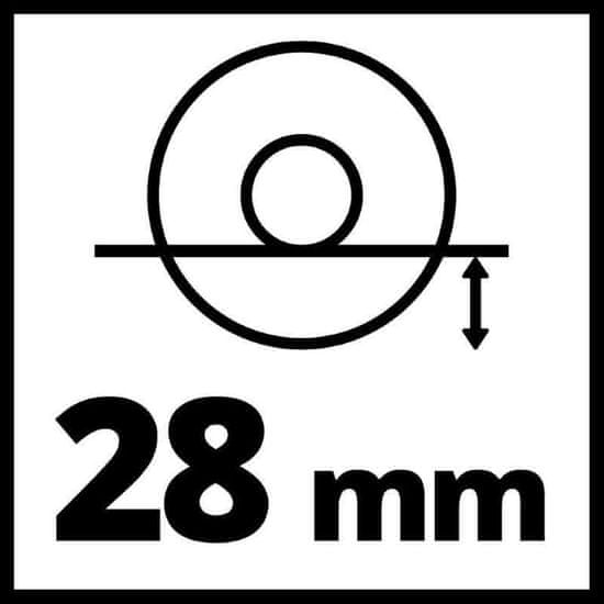 Einhell akumulatorska kutna bušilica TC-AG 18/115 Li-Solo (4431130)