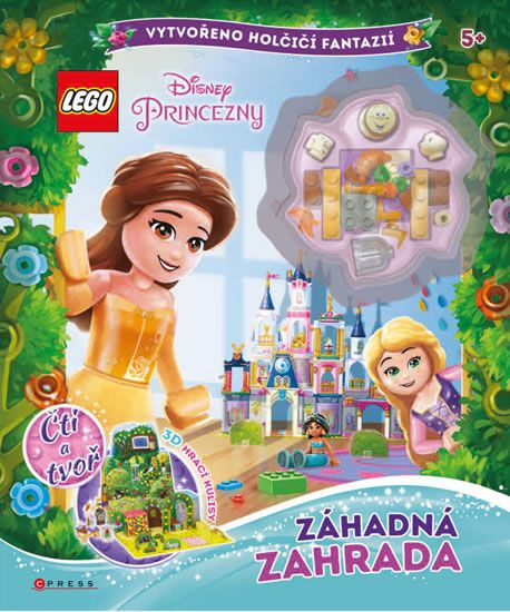 kolektiv autorů: LEGO Disney Princezny - Záhadná zahrada
