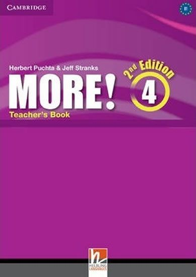 Pelteret Cheryl: More! 4 Teacher´s Book (2nd)