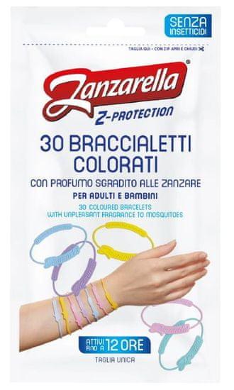 Zanzarella Z védő karkötő felnőtteknek 30db
