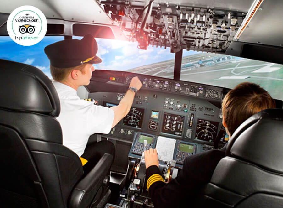 Allegria boeing 737 na 30 minut Praha