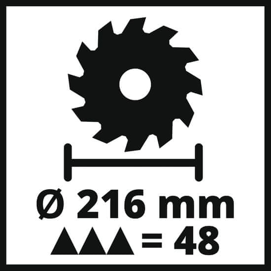 Einhell zajeralna žaga TC-MS 216 (4300370)