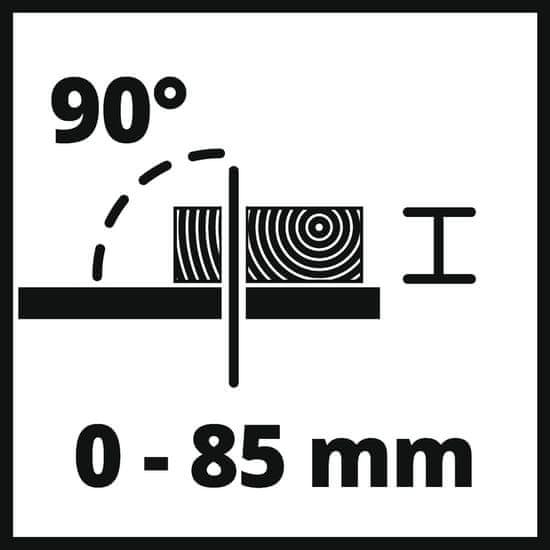 Einhell krožna žaga s stojalom TC-TS 2025/2 U (4340490) - Odprta embalaža