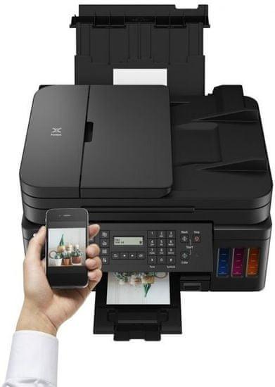 Canon Pixma G7040 večfunkcijski brizgalni tiskalnik + GRATIS črno črnilo za 18.000 izpisov