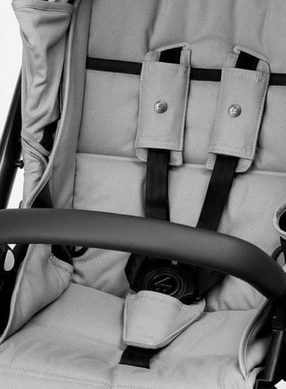 MUTSY EVO kompletní kočárek Grip Grey Frame Standard 2020/Bold Pebble Grey