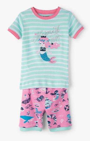 Little Blue House Sweet Mermaid dječja pidžama
