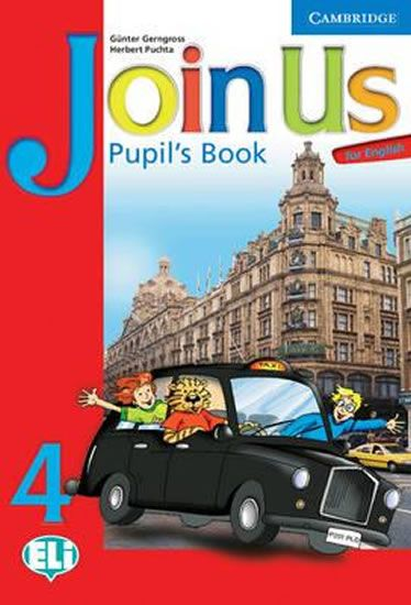 Gerngross Günter: Join Us for English 4 Pupils Book