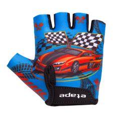Etape rękawice rowerowe dziecięce Tiny Niebieskie 3-4