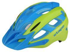 Etape Hero otroška kolesarska čelada, modro-zelena, S/M
