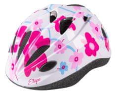 Etape kask rowerowy dziecięcy Pony Biały/Różowy XS/S