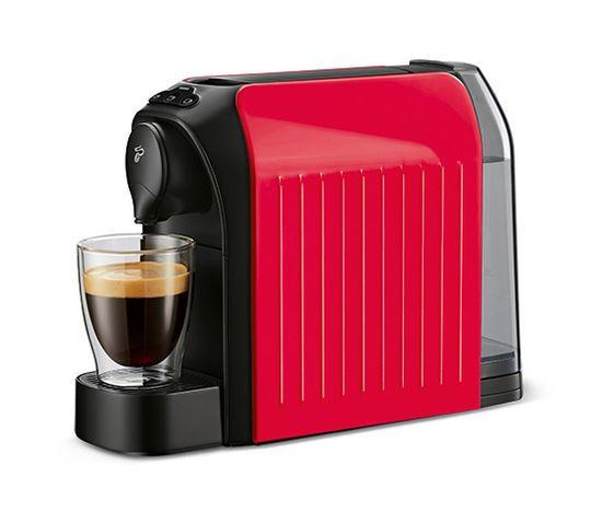 Tchibo kávovar na kapsle Cafissimo EASY, červený - zánovní