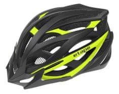 Etape Magnum kolesarska čelada, črno-rumena, S/M