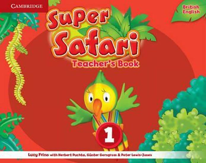 Frino Lucy: Super Safari Level 1 Teacher´s Book