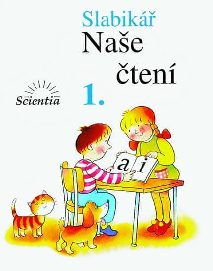 Linc Vladimír, Kábele František: Slabikář - Naše čtení 1 - 3. vydání