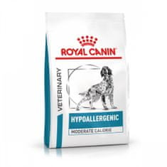 Royal Canin Veterinary Health Nutrition Dog Hypoallergenic Moderate Calorie 14 kg