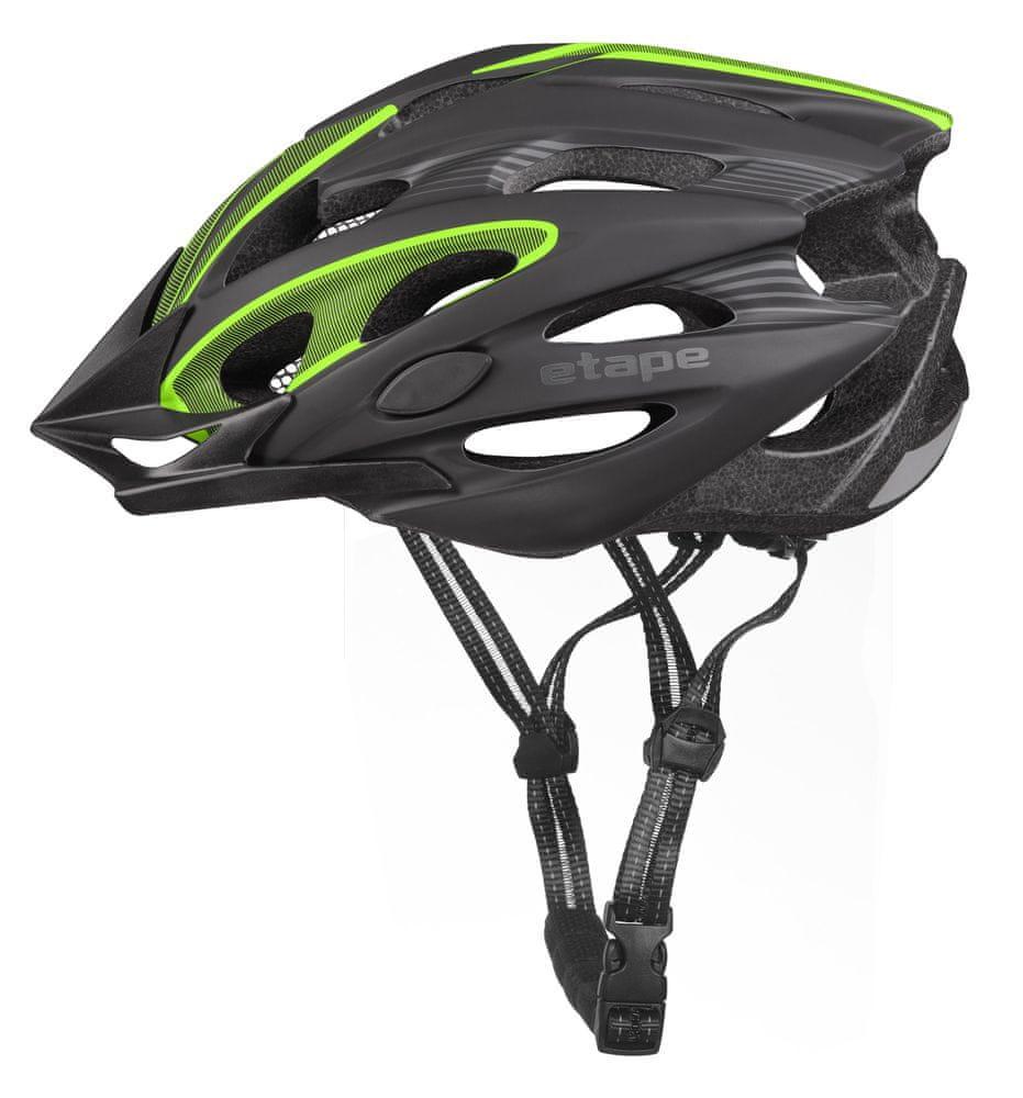 Etape Biker Černá/Zelená Mat S/M