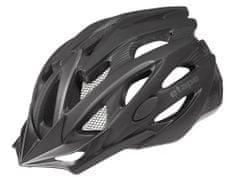 Etape Biker kolesarska čelada, črna, S/M