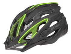Etape Biker kolesarska čelada, črno-zelena, L/XL