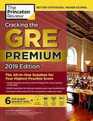 Cracking the GRE Premium Edition with 6 Practice Tests, 2019