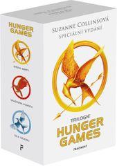 Collinsová Suzanne: HUNGER GAMES - Komplet, výroční vydání box 1.-3.díl