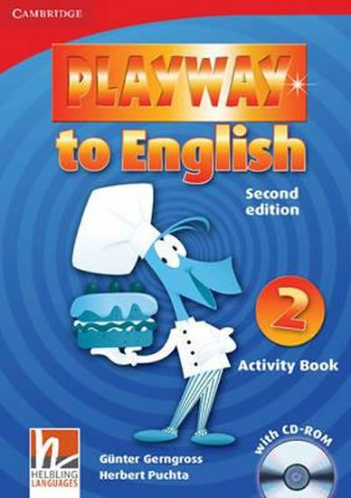 Gerngross Günter: Playway to English Level 2 Activity Book with CD-ROM