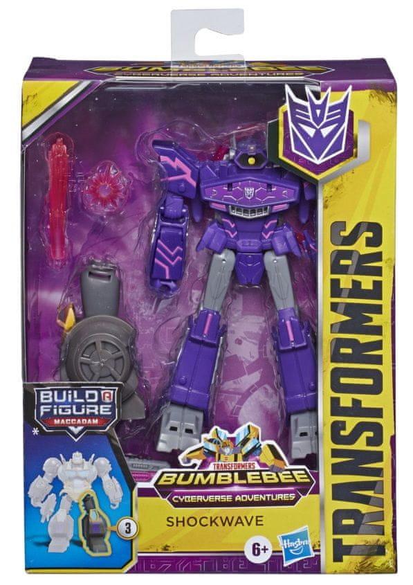 Transformers Cyberverse Deluxe Shockwave