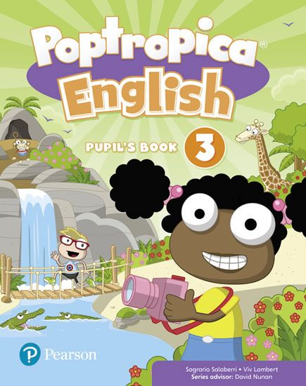 Salaberri Sagrario: Poptropica English Level 3 Pupil´s Book + PEP kód elektronicky