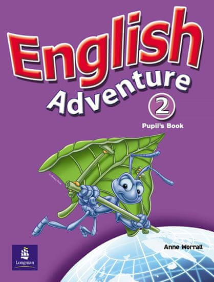 Worrall Anne: English Adventure 2 Pupil´s Book plus Picture Cards