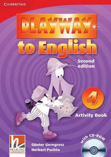 Gerngross Günter: Playway to English Level 4 Activity Book with CD-ROM