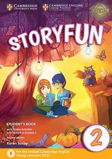 Saxby Karen: Storyfun for Starters Level 2 Student´s Book with Online Activities and Home Fun Bookle