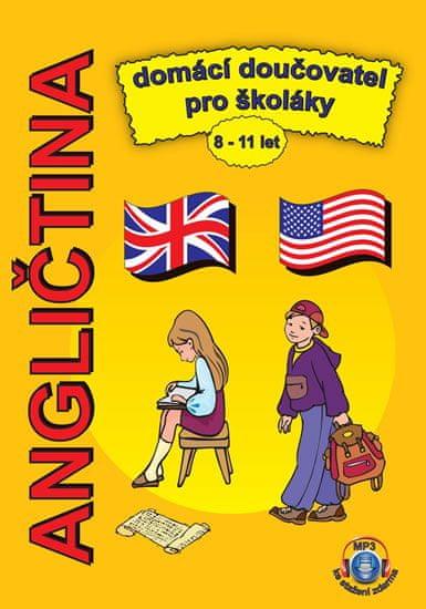 Pařízková Štěpánka: Angličtina domácí doučovatel pro školáky 8-11 let + MP3 ke stažení zdarma