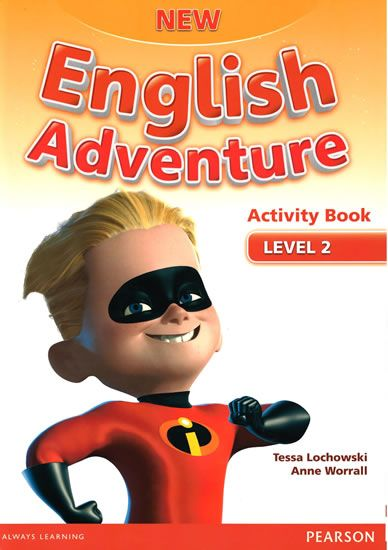 Worrall Anne: New English Adventure 2 Activity Book w/ Song CD Pack