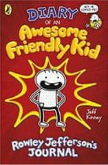 Kinney Jeff: Diary of an Awesome Friendly Kid : Rowley Jefferson's Journal