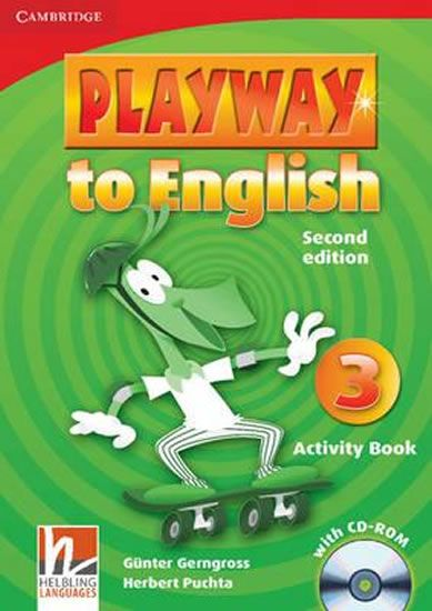 Gerngross Günter: Playway to English Level 3 Activity Book with CD-ROM
