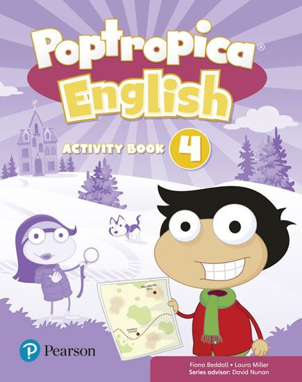 Beddall Fiona: Poptropica English 4 Activity Book