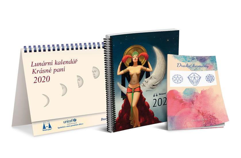 Kanyzová Žofie: Lunární kalendář Krásné paní s publikací 2020