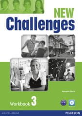 Maris Amanda: New Challenges 3 Workbook w/ Audio CD Pack