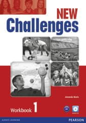 Maris Amanda: New Challenges 1 Workbook w/ Audio CD Pack