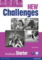 Maris Amanda: New Challenges Starter Workbook w/ Audio CD Pack