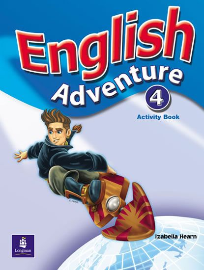 Hearn Izabella: English Adventure 4 Activity Book