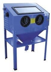 SATRA Pískovací box - kabinová pískovačka, objem 220 litrů, s příslušenstvím - SATRA