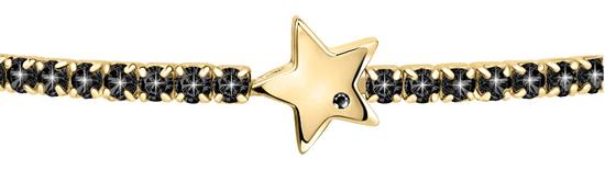 La Petite Story Trblietavý pozlátený náramok Hviezdička LPS05APZ16