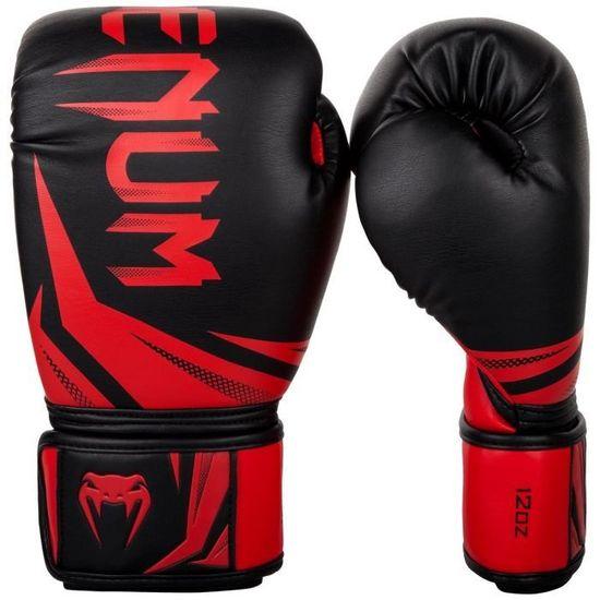 """VENUM Boxerské rukavice """"Challenger 3.0"""", černá /červená 14oz"""