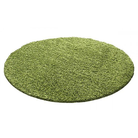 Jutex Koberec Life Shaggy zelený 1500 kruh