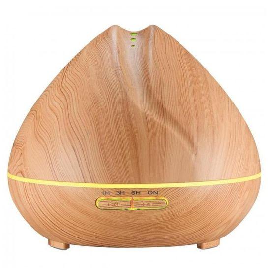 """GOLDSUN Oljni Difuzor """"Mandala 400ml"""" osvežilec in vlažilec zraka - Svetli les"""