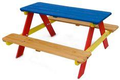 Rojaplast Gyerek piknik készlet - színes