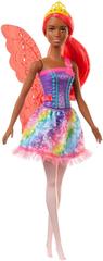 Mattel Barbie Kouzelná víla červená křídla
